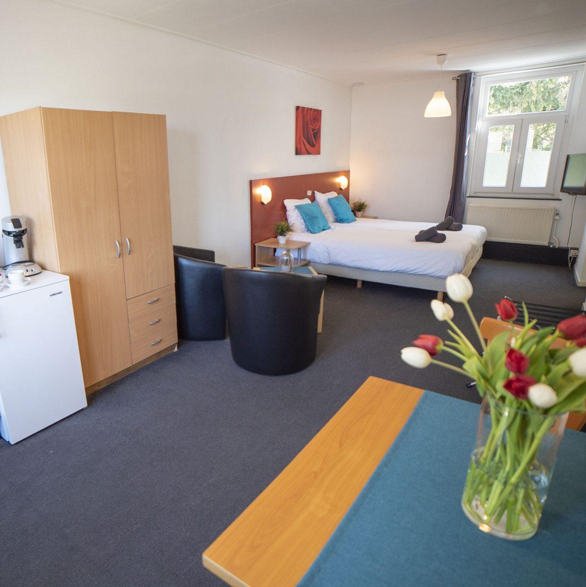 Grotere Comfort kamer met bad (35 m²)